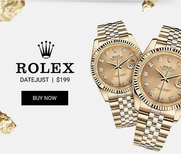 Rolex Datejust Gold Lady knockoff