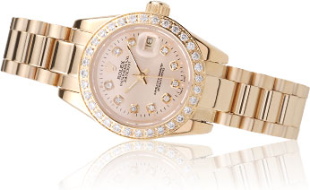Rolex Datejust 18k lady replicas