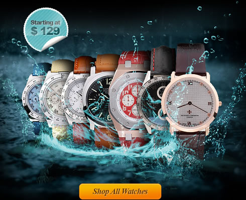 replica watches collection